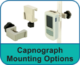 Capnograph Mounting Options