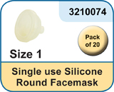 Size 1 Silicone Facemask