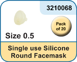Size 0 Silicone Facemask