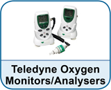 Teledyne Oxygen Monitors/Analysers
