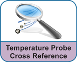Temperature Probe Cross Reference