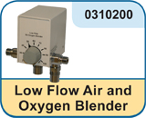 Low Flow Air and Oxygen Blender