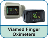 Viamed Finger Oximeters